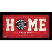 Toronto Raptors 6x12 Home Sweet Home Sign