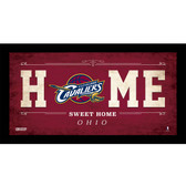 Cleveland Cavaliers 6x12 Home Sweet Home Sign