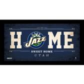 Utah Jazz 10x20 Home Sweet Home Sign