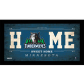 Minnesota Timberwolves 10x20 Home Sweet Home Sign