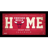 Chicago Bulls 10x20 Home Sweet Home Sign