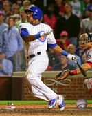 Chicago Cubs Addison Russell 16x20 Stretched Canvas