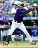 Colorado Rockies Carlos Gonzalez 20x24 Stretched Canvas