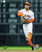 Houston Astros Jose Altuve 40x50 Stretched Canvas