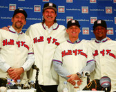 Houston Astros Randy Johnson,Pedro Martinez,John Smoltz, Craig Biggio 40x50 Stretched Canvas