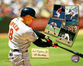 Baltimore Orioles Cal Ripken Jr. 20x24 Stretched Canvas
