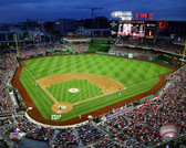 Washington Nationals Nationals Park 2015 40x50 Stretched Canvas