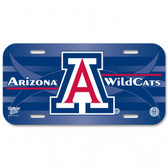 Arizona Wildcats Plastic License Plate