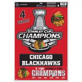 "Chicago Blackhawks 11""x17"" Ultra Decal Sheet - 2015 Champs"
