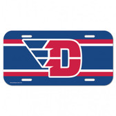 Dayton Flyers Plastic License Plate