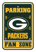 Green Bay Packers 12x18 Plastic Fan Zone Sign