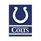 """Indianapolis Colts 28""""x40"""" 2-Sided Banner"""