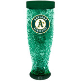 Oakland Athletics Full Color Crystal Pilsner Glass - Hunter