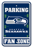 Seattle Seahawks 12x18 Plastic Fan Zone Sign