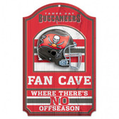 Tampa Bay Buccaneers 11x17 Wood Sign - Fan Cave