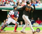 Baltimore Orioles Matt Wieters 20x24 Stretched Canvas