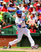Texas Rangers Elvis Andrus 20x24 Stretched Canvas
