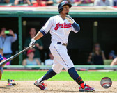 Cleveland Indians Francisco Lindor 16x 20 Stretched Canvas
