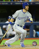 Kansas City Royals Ben Zobrist 20x24 Stretched Canvas