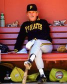 Pittsburgh Pirates Jim Leyland 16x 20 Stretched Canvas