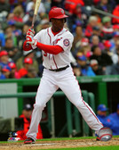 Washington Nationals Michael Taylor 20x24 Stretched Canvas
