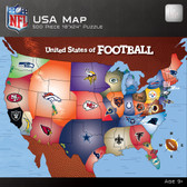United States of Football 500 Piece NFL Puzzle