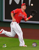 Los Angeles Angels Mike Trout 40x50 Stretched Canvas