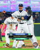 Seattle Mariners Hisashi Iwakuma 16x20 Stretched Canvas