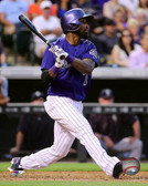 Colorado Rockies Jose Reyes 16x20 Stretched Canvas