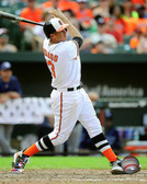 Baltimore Orioles Manny Machado 20x24 Stretched Canvas