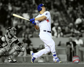Los Angeles Dodgers Joc Pederson 40x50 Stretched Canvas