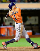 Houston Astros Carlos Correa 20x24 Stretched Canvas # 2