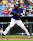 Colorado Rockies Jose Reyes 16x20 Stretched Canvas # 2