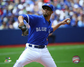 Toronto Blue Jays David Price 16x20 Stretched Canvas # 2
