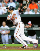 Baltimore Orioles Manny Machado 16x20 Stretched Canvas # 3
