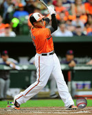 Baltimore Orioles Manny Machado 16x20 Stretched Canvas # 4