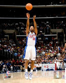 Los Angeles Clippers Sam Cassell 16x20 Stretched Canvas