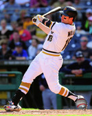 Pittsburgh Pirates Neil Walker 16x20 Stretched Canvas
