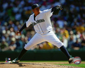 Seattle Mariners Felix Hernandez 16x20 Stretched Canvas