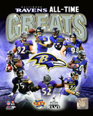 Baltimore Ravens 20x24 Stretched Canvas