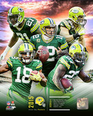 Green Bay Packers 16x20 Stretched Canvas