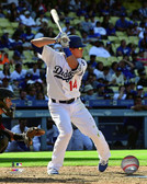 Los Angeles Dodgers Enrique Hernandez 40x50 Stretched Canvas