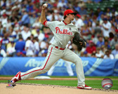 Philadelphia Phillies Aaron Nola 20x24 Stretched Canvas
