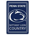 """Penn State Nittany Lions Metal Sign 12"""" x 18"""""""