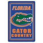 "Florida Gators Metal Sign 12"" x 18"""
