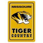 """Missouri Tigers Metal Sign 12"""" x 18"""""""