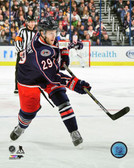 Columbus Blue Jackets Cody Goloubef 16x20 Stretched Canvas