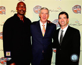 Utah Jazz Karl Malone, John Stockton, Jerry Sloan 40x50 Stretched Canvas