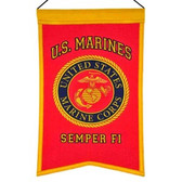 US Marines Wool Banner