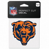 Chicago Bears 4x4 Perfect Cut Color Decal - Single